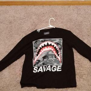 A Savage shirt large Levi's size 11